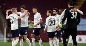 Manchester City, Aston Villa'yı deplasmanda yıktı