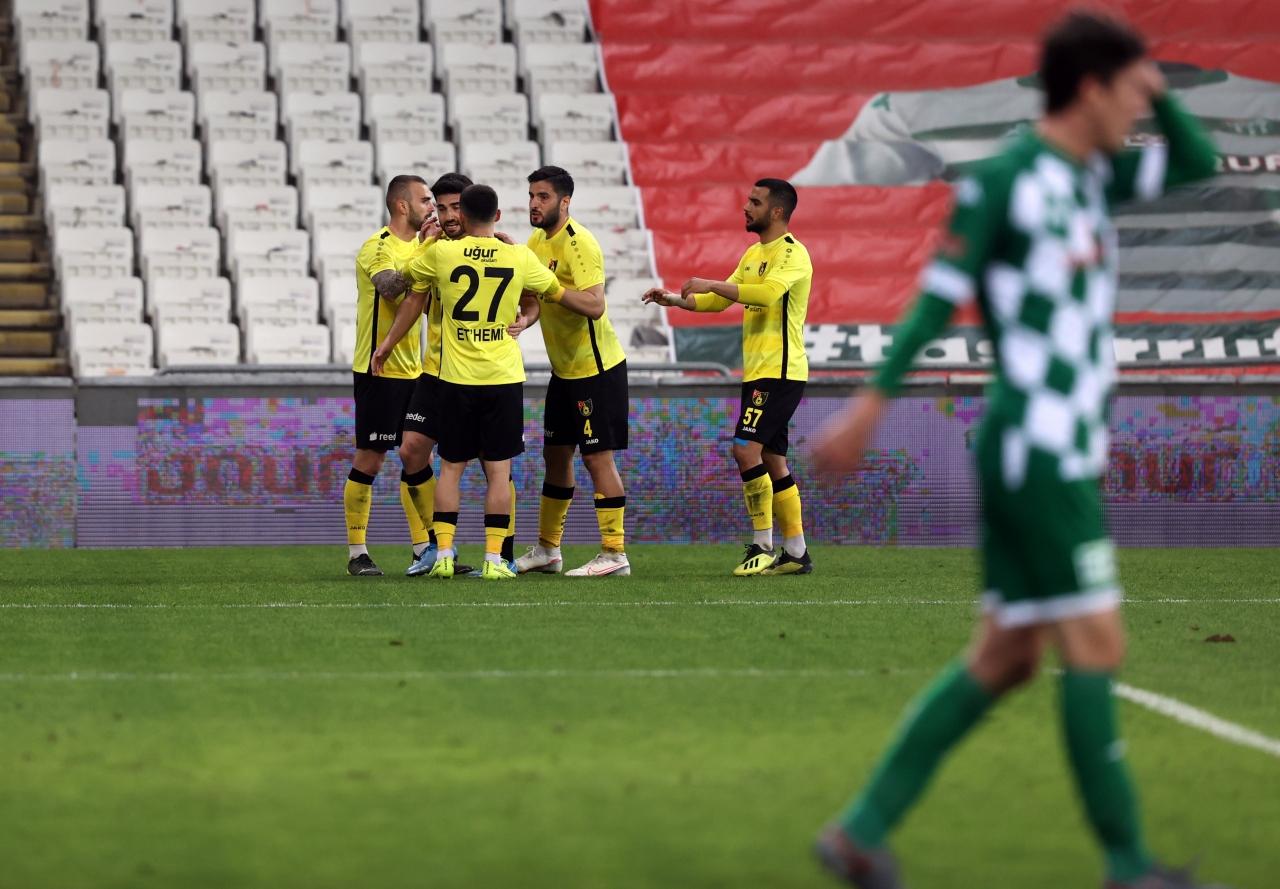 5. İstanbulspor, Bursa`da kazandı