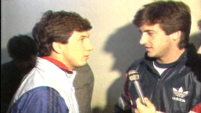 NOSTALJİ | 1987-88 Sezonu Galatasaray-Beşiktaş maç öncesi