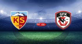 Kayserispor, Gaziantep FK'yı ağırlayacak