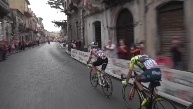 İtalya bisiklet turunun favorileri