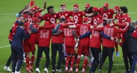 Bayern Münih, şampiyonluğu 6-0'lık galibiyetle kutladı
