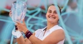 Madrid Açık'ta şampiyon Sabalenka