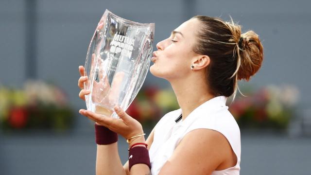 Madrid Açık'ta kadınlarda şampiyon Sabalenka