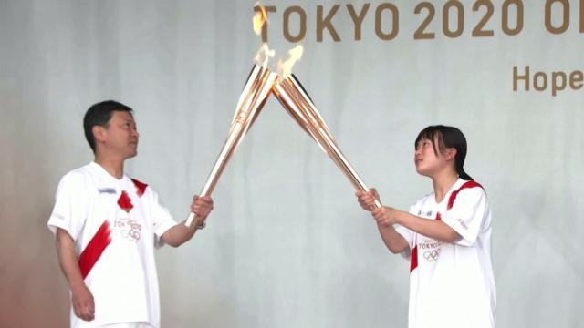Olimpiyat Meşalesi'nin turu devam ediyor