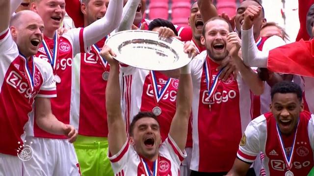 Ajax'tan taraftarlarına anlamlı jest
