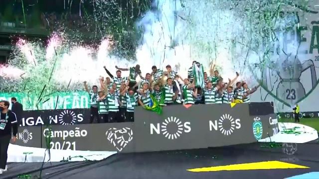 Sporting'in kutlamalarına gölge düştü