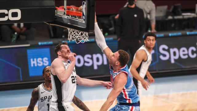 Brooklyn Nets, Spurs'u mağlup etti