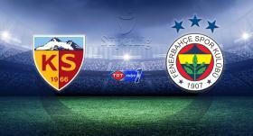 Fenerbahçe, sezonu Kayseri'de noktalıyor
