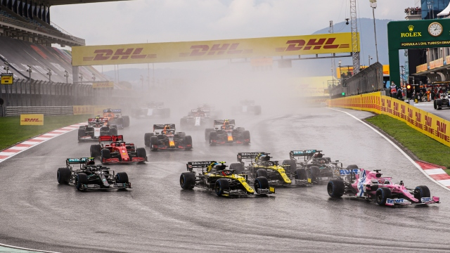 Formula 1 Türkiye Grand Prix'i iptal edildi