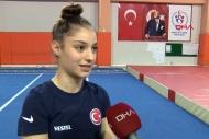Milli cimnastikçinin hedefi 2024 olimpiyatları