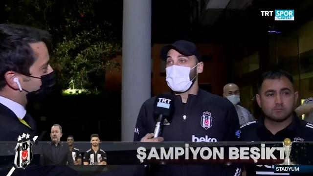 Cenk Tosun'dan TRT SPOR'a şampiyonluk açıklaması