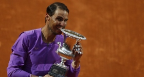 Rafael Nadal, Roma Açık'ta 10. kez şampiyon