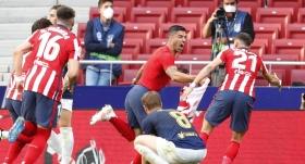 Atletico Madrid, son haftaya lider girdi