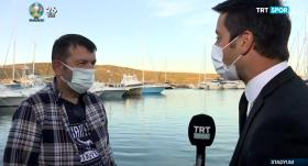 Erdal Torunoğulları'ndan TRT SPOR'a özel açıklamalar