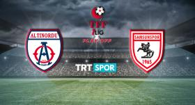 Altınordu - Samsunspor maçı TRT SPOR'da