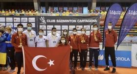 Milli para badmintonculardan 5 madalya