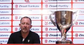 Sergen Yalçın: Çifte kupayı istiyoruz