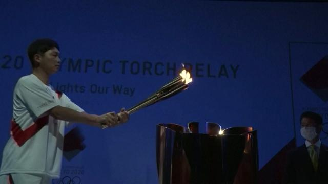 Olimpiyat Meşalesi Hiroshima'da
