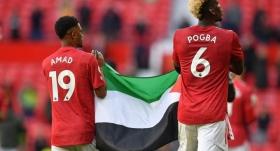 Amad ve Pogba'dan Filistin'e destek