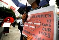 Tokyo'da Olimpiyat Oyunları karşıtı gösteri Haberinin Görseli