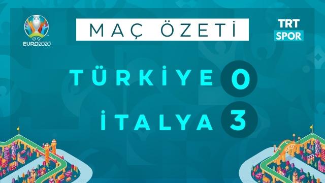 EURO 2020 | İtalya - Türkiye (Özet)