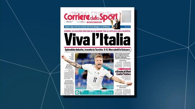 Milli maçın ardından İtalya basını