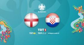 İngiltere - Hırvatistan maçı TRT1'de