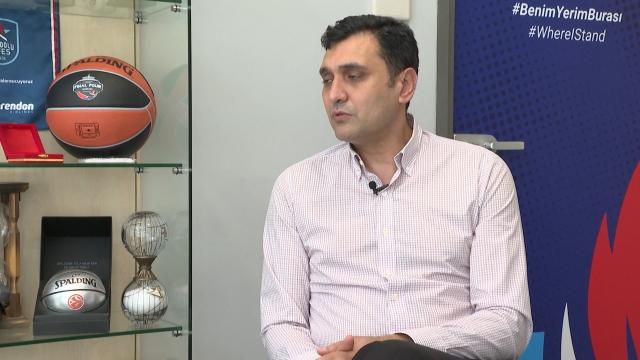 Anadolu Efes Genel Direktörü Alper Yılmaz TRT SPOR'a konuştu