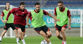 Milli Takım Galler maçı hazırlıklarını sürdürdü