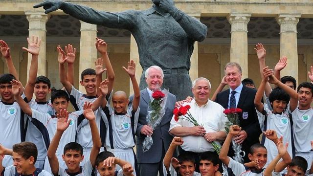 Azerbaycan'dan dünyaya nam salan bir futbol adamı