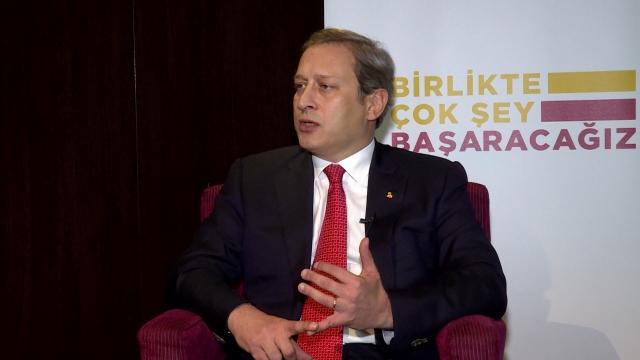 Galatasaray başkan adayı Burak Elmas TRT SPOR'a konuştu