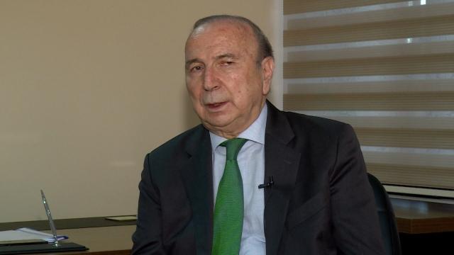Galatasaray başkan adayı İbrahim Özdemir TRT SPOR'a konuştu