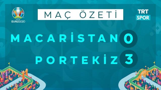 EURO 2020 | Macaristan - Portekiz (Özet)