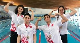 Milli yüzücüler dünya şampiyonu oldu