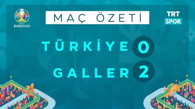 EURO 2020 | Türkiye - Galler (Özet)