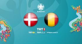 Danimarka - Belçika maçı TRT1'de