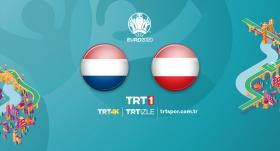 Hollanda - Avusturya maçı TRT1'de