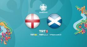 İngiltere - İskoçya maçı TRT 1'de