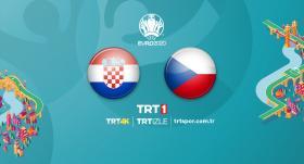 Hırvatistan - Çekya maçı TRT 1'de