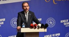 Bakan Kasapoğlu: Gençliğimiz, en büyük umudumuz