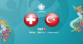 Türkiye - İsviçre maçı TRT1'de