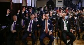 Galatasaray'a adaylar oy kullandı