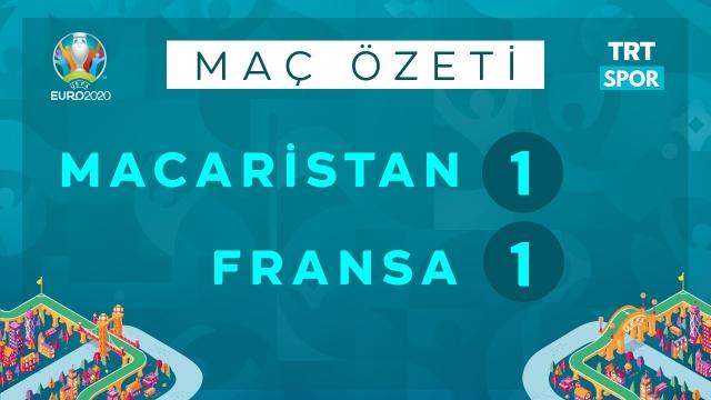 EURO 2020 | Macaristan - Fransa (Özet)