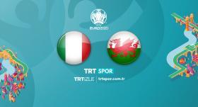 İtalya - Galler maçı TRT SPOR'da