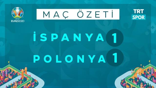 EURO 2020 | İspanya - Polonya (Özet)