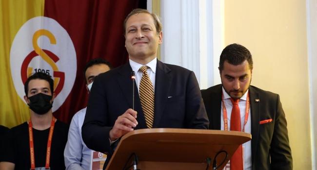 Galatasaray'ın yeni başkanı Burak Elmas - TRT Spor - Türkiye`nin güncel spor haber kaynağı