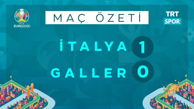 EURO 2020 | İtalya - Galler (Özet)