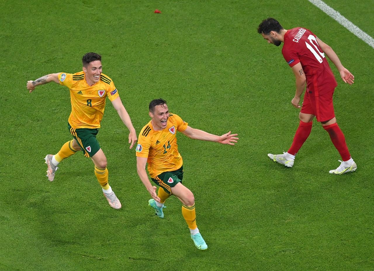En geç gol | Connor Roberts -> Türkiye-Galler