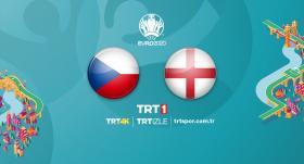 Çekya - İngiltere maçı TRT1'de